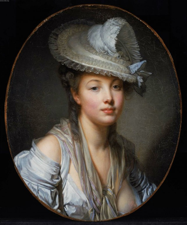 Jean-Baptiste Greuze: The White Hat