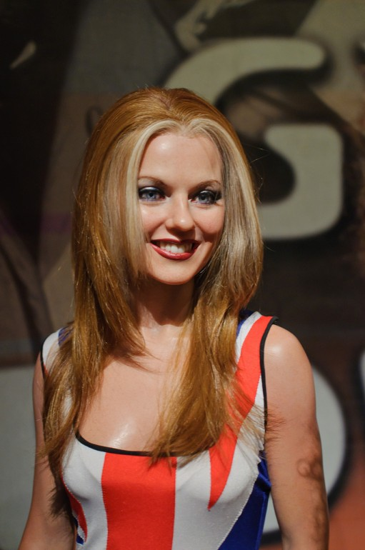 Geri Halliwell (Ginger Spice) at Madame Tussaud's New York