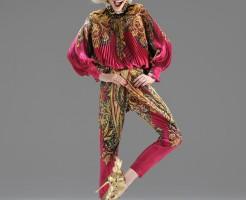 Sexy Barbora Wohlova in Gaetano Navarra Ankle Stiletto Boots FW 2012 017