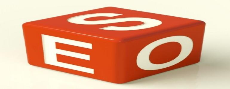 サイコロのような形をした形状にSEOと書かれている画像です。